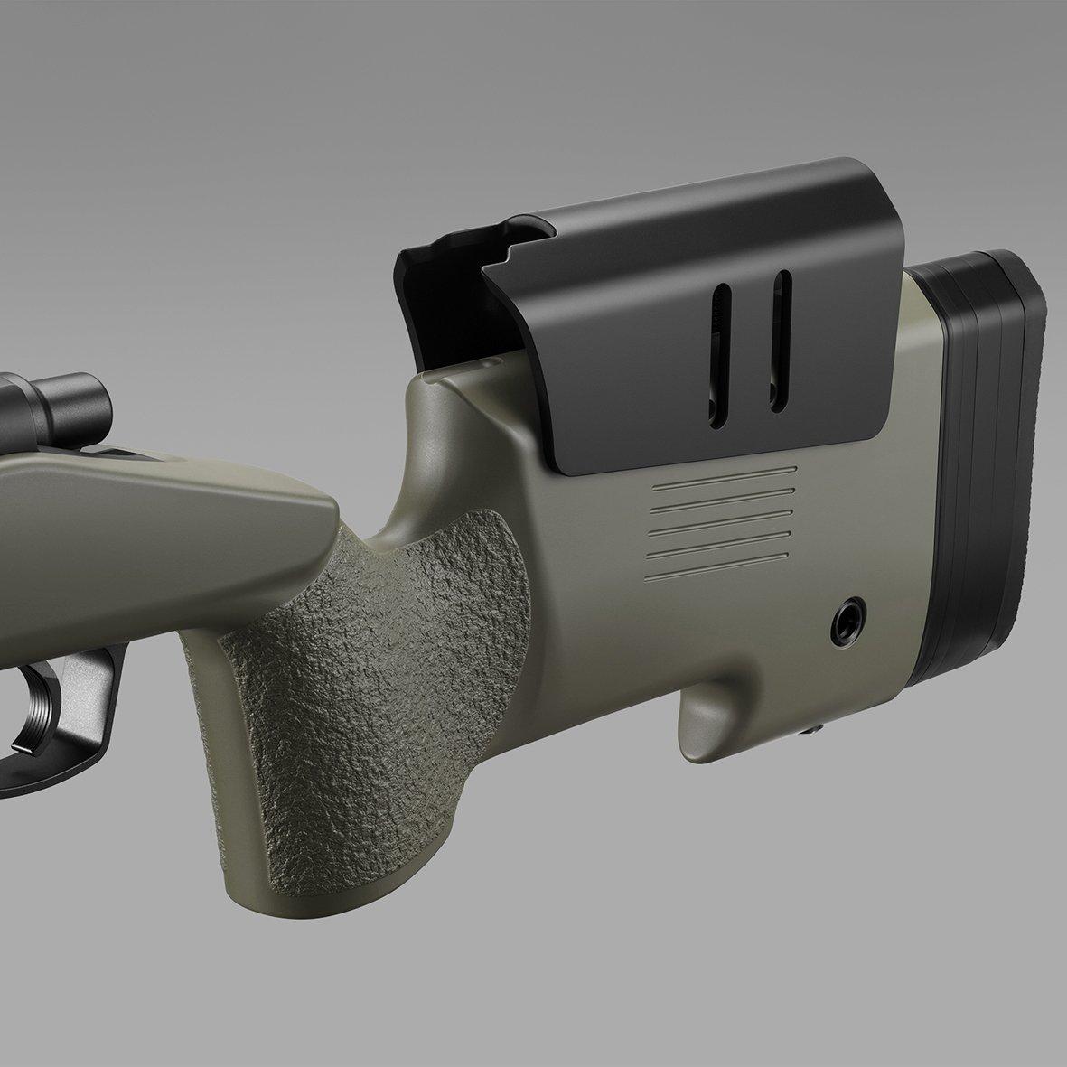 東京マルイ M40A5 ブラックストック / O.D.ストック3