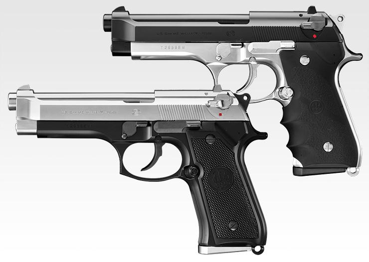 東京マルイ M92F フレームシルバー / スライドシルバー