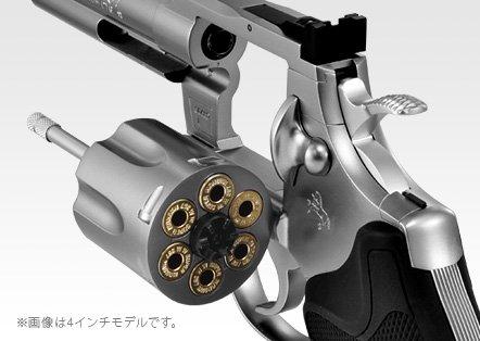 東京マルイ コルトパイソン.357マグナム ステンレスモデル 6インチ1