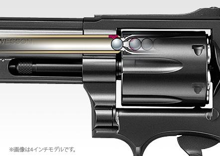 東京マルイ スミス&ウェッソン M19 6インチ1