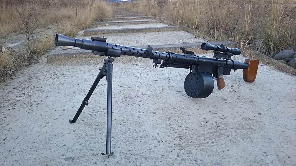 G3ベース機関銃(自作)