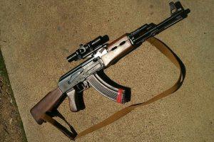 AK47電動ガン
