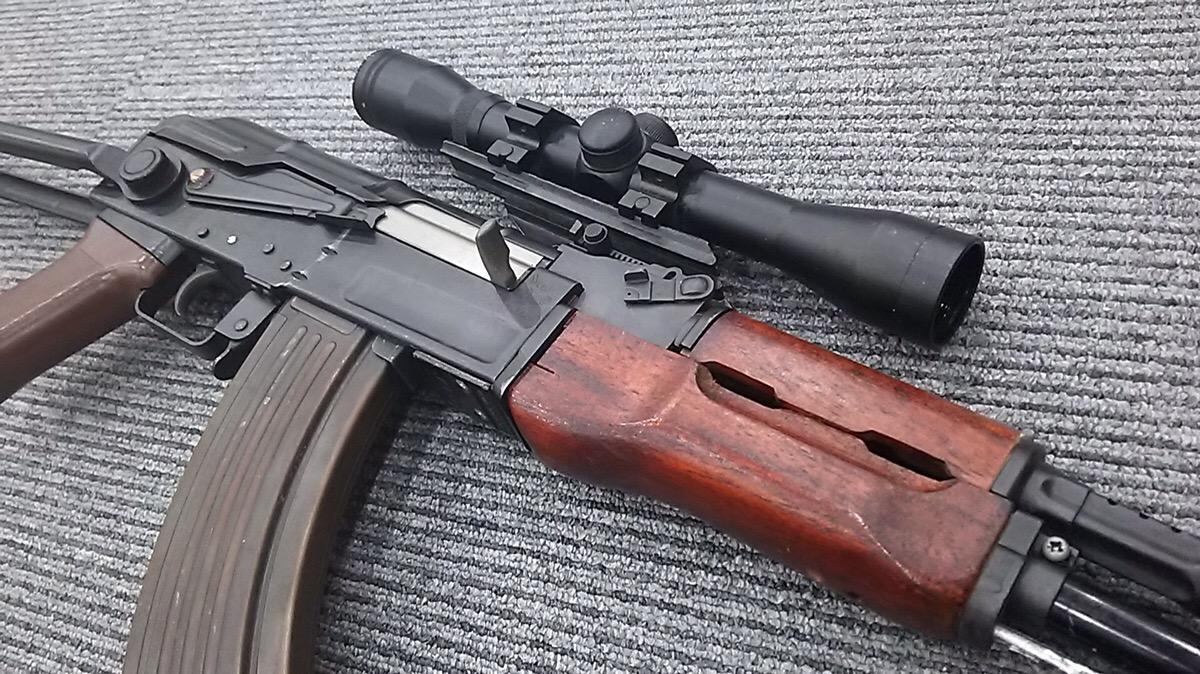 AK47マウント搭載