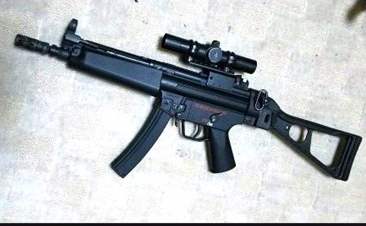 マルイ製電動ガンの「MP5」【ガンレポ8】