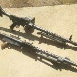 オリジナルの機関銃とMG34
