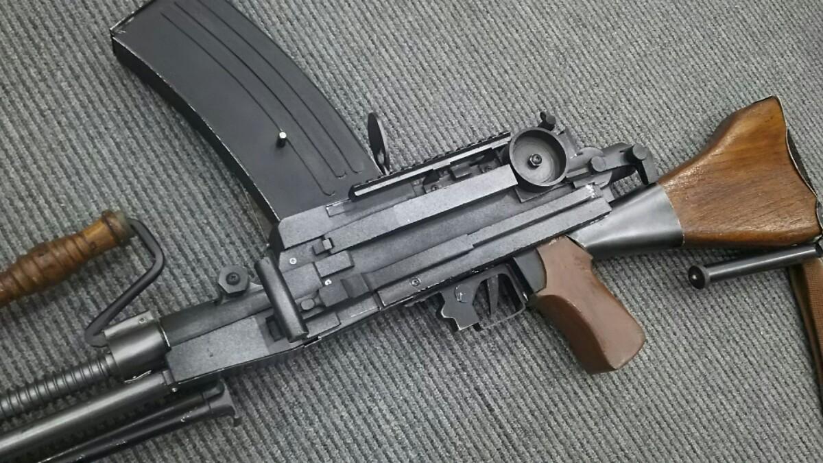 九九式軽機関銃2