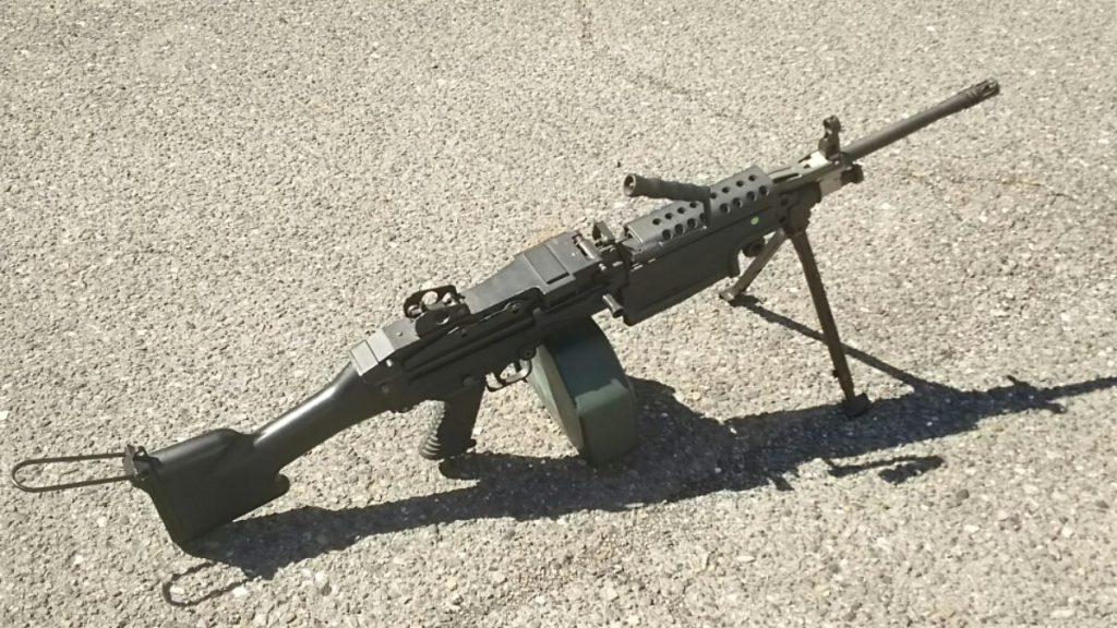 M249ミニミ電動ガン1