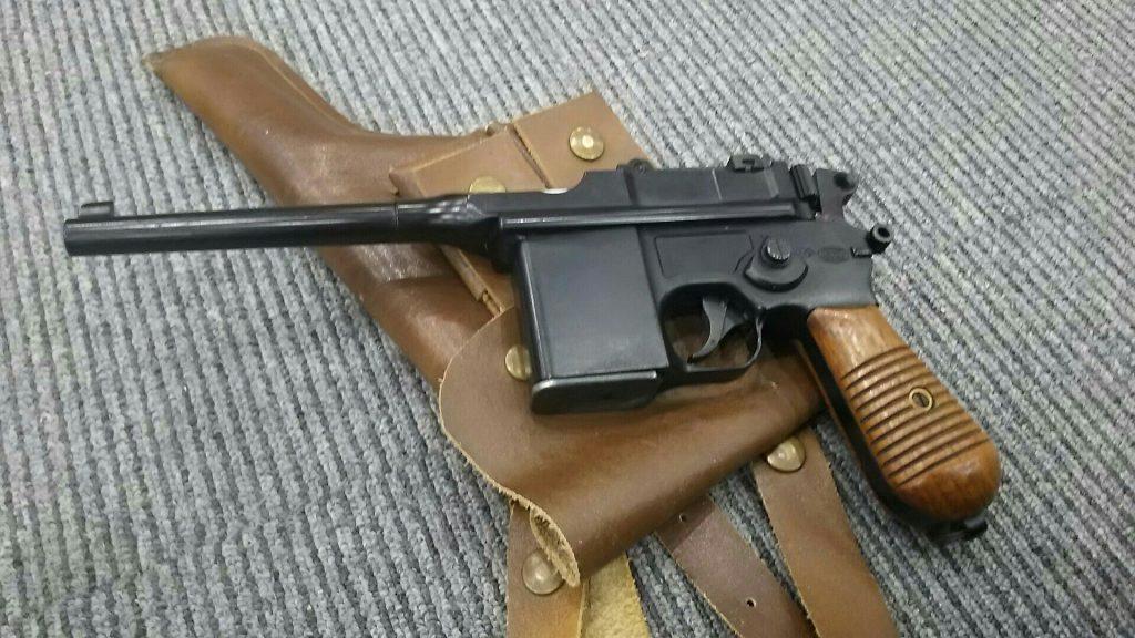 マルシン製固定スライドガスガンの「モーゼルM712maxi」