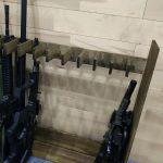木製ガンラック自作・電動ガンやアサルトライフルに最適な自作ガンラック
