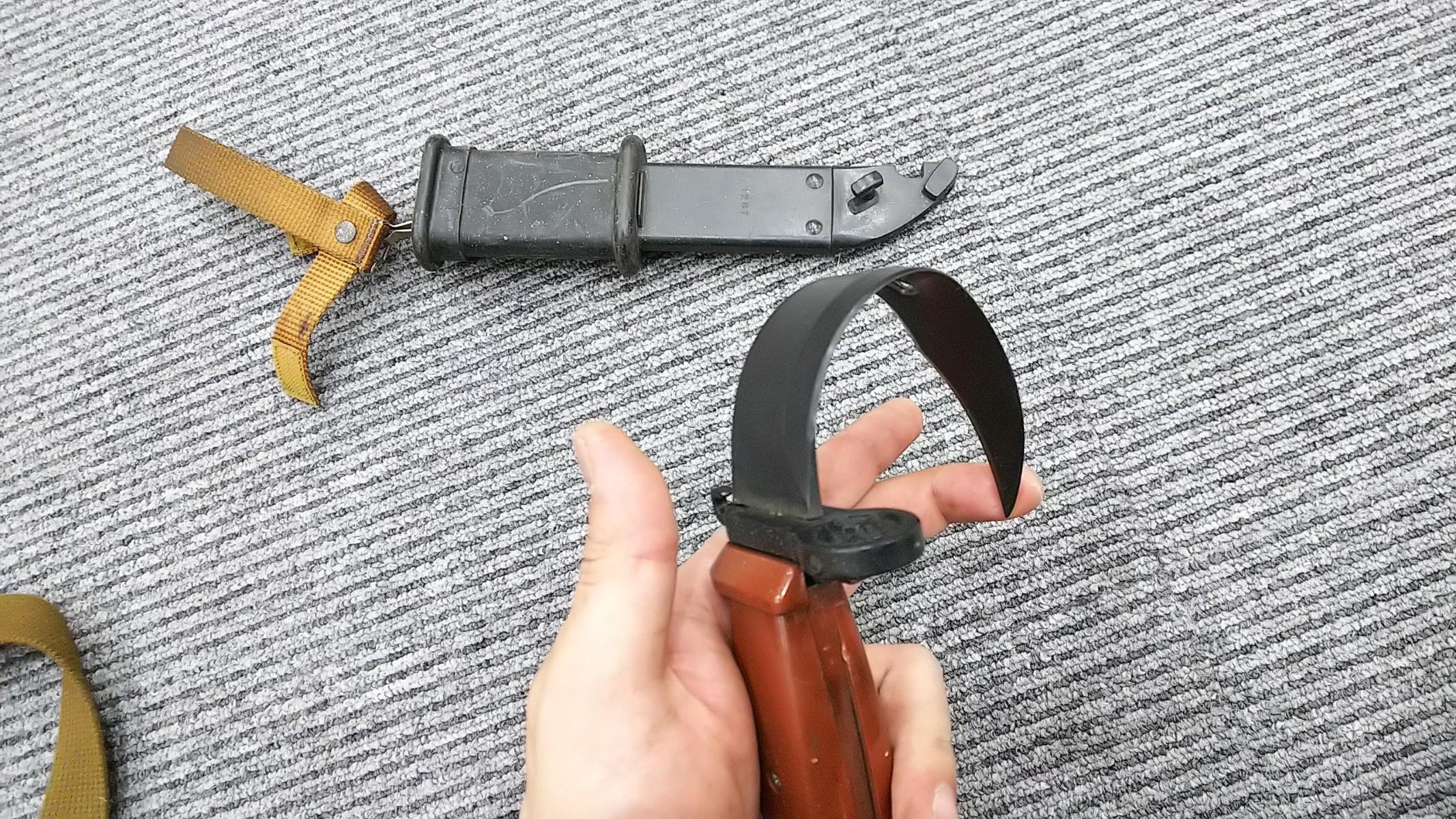 銃剣ゴムナイフ