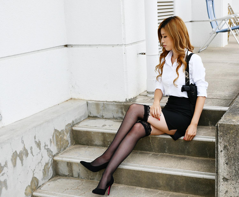 サバゲー女子モデル
