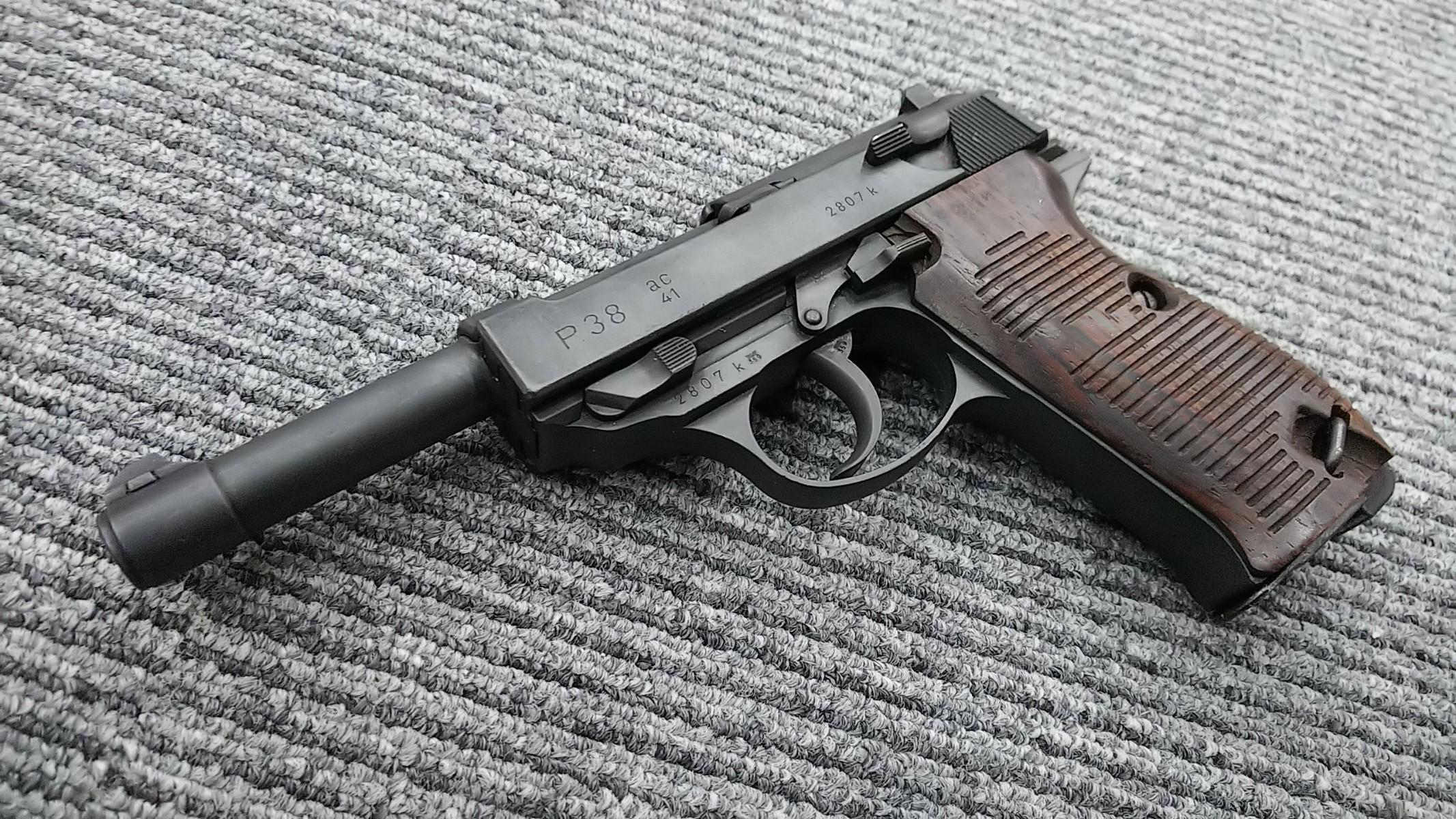 マルゼン製ワルサーP38