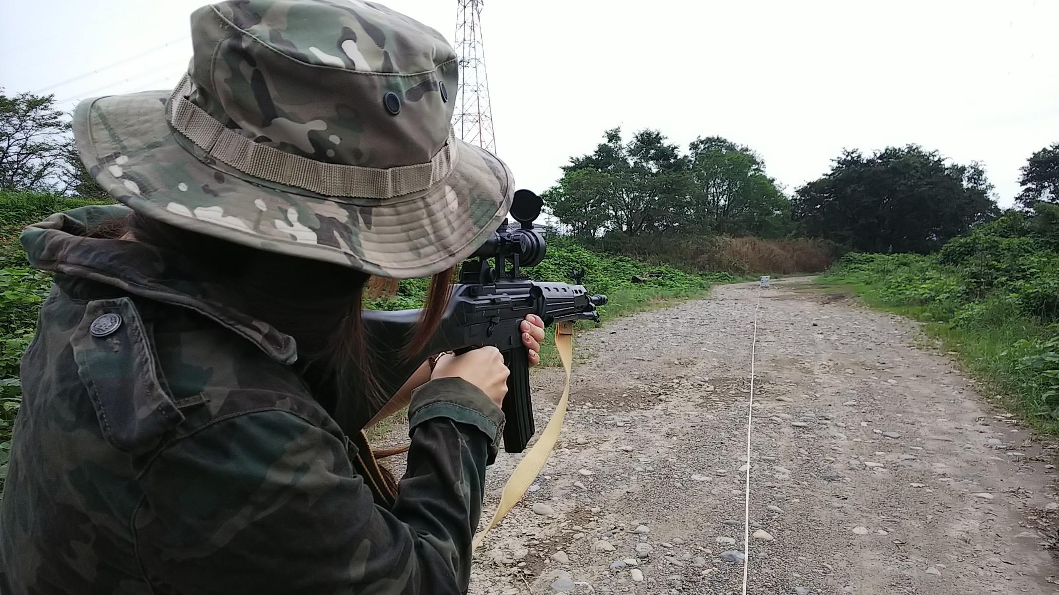 射撃テスト