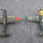 三式戦とBF109